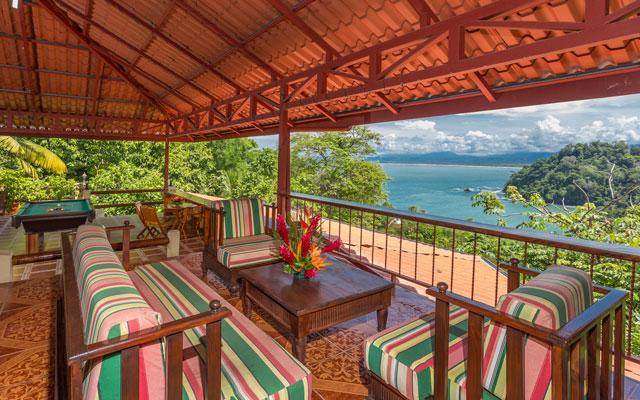 Casa Pura Paz deck view