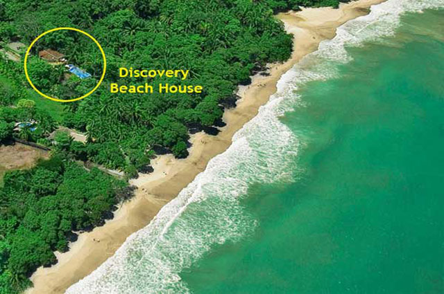 Discovery Beach House aerial view