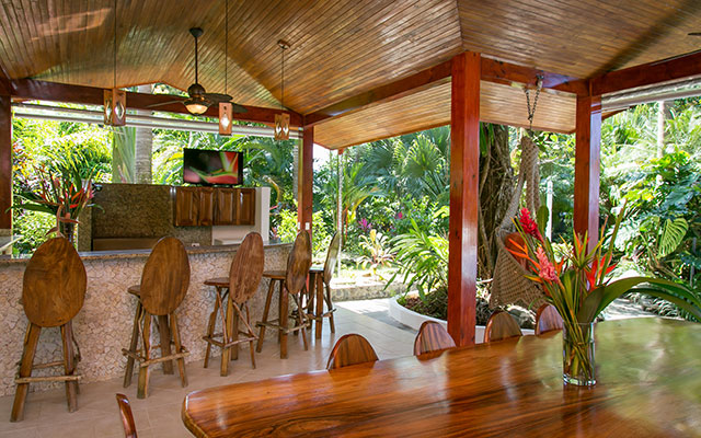 manuel antonio vacation rentals casa maravilla rancho with plasma TV