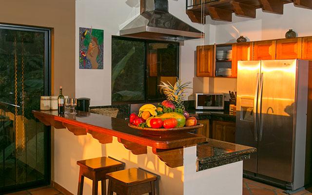 casa maravilla manuel antonio kitchen