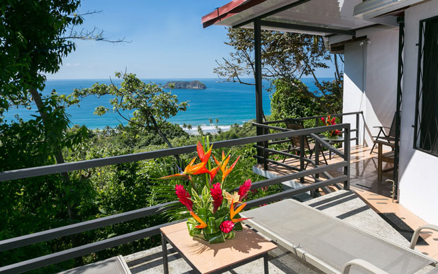 Villa Playa Mono - terrace view