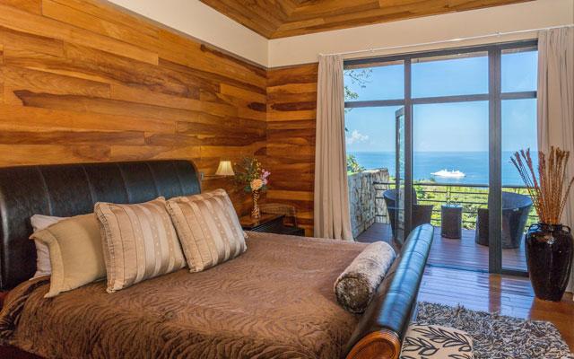 Casa Karma master bedroom view