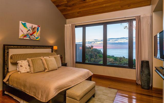 Casa Karma bedroom view