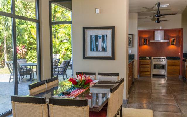 Casa Karma dining room