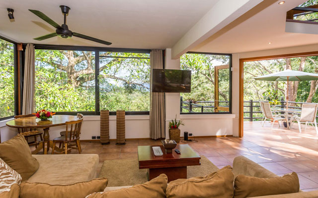 Casa Luz living room