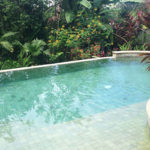 Casa Tranquilidad pool and garden