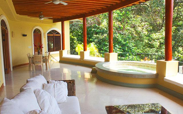 Casa Tranquilidad terrace