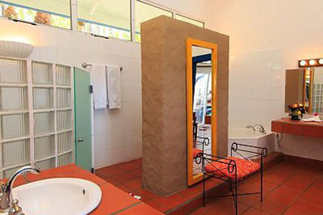Manuel Antonio Vacation Rental VP Private Resort one of eight bathrooms