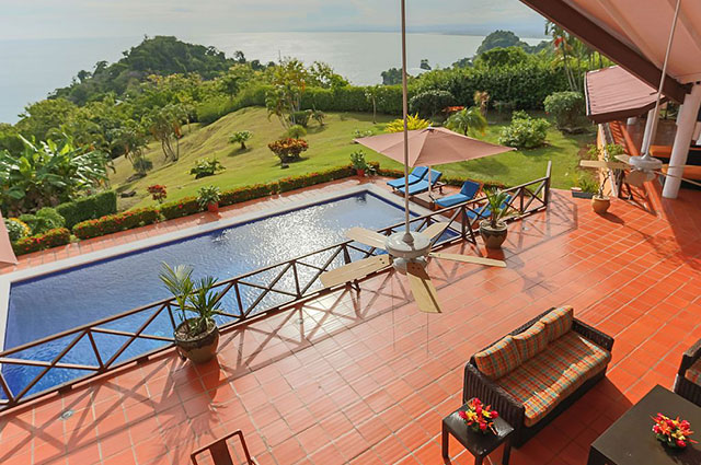 Manuel Antonio Vacation Rental VP Private Resort outdoor living and pool