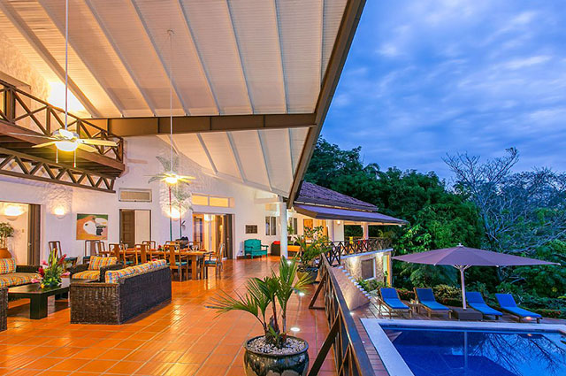 Manuel Antonio Vacation Rental VP Private Resort outdoor living dining and pool