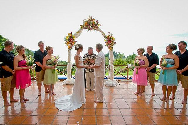 Manuel Antonio Vacation Rental VP Private Resort prefect for weddings