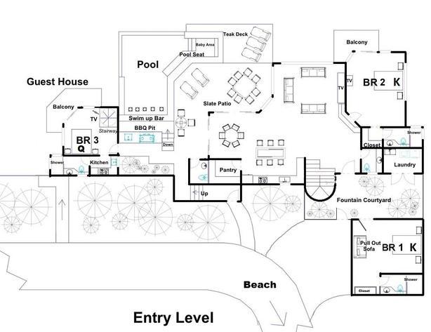 Vista Oceana first floor plan