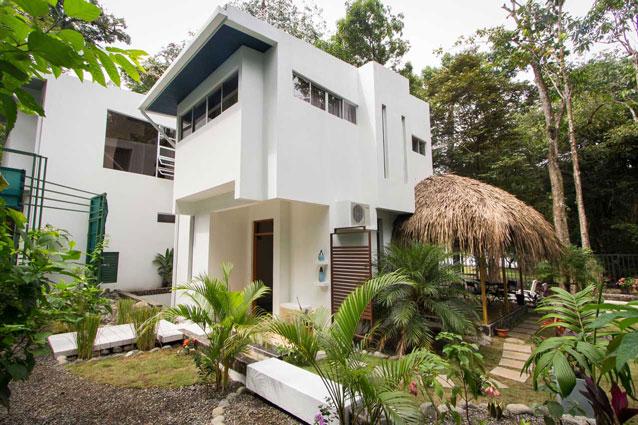Manuel Antonio Home Rentals: Espadilla Ocean Club exterior shot