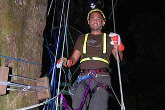 Manuel Antonio Vacation Rentals: Night canopy tour