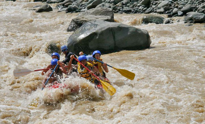 Manuel Antonio Vacation Properties: Rafting Rio Naranjo
