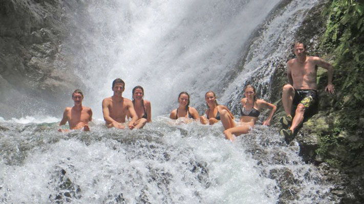 Manuel Antonio Vacation Properties: Vacation Buggy jungle waterfall