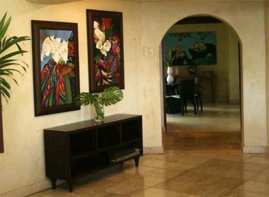 Manuel Antonio Rentals: Villa Vigia interior art