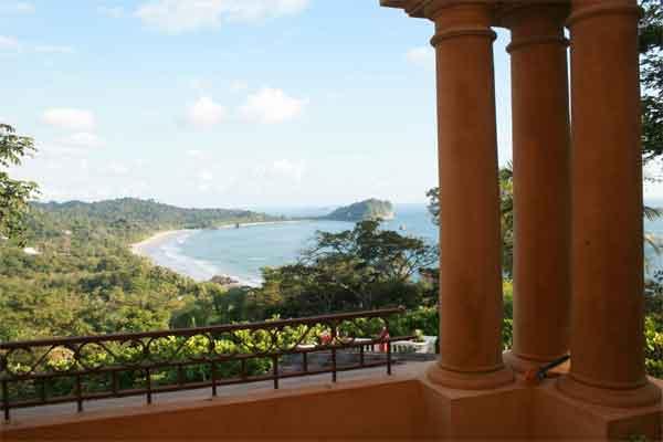 Manuel Antonio Rentals: Villa Vigia balcony view