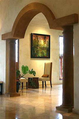 Manuel Antonio Vacation Rentals: Villa Vigia arch