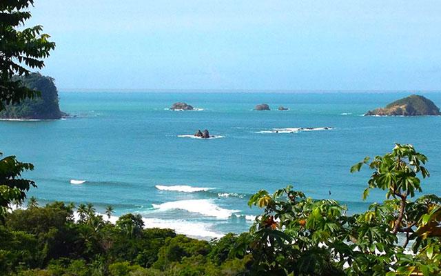 Manuel Antonio Vacation Rental Homes: Villa Playa Mono - view of ocean