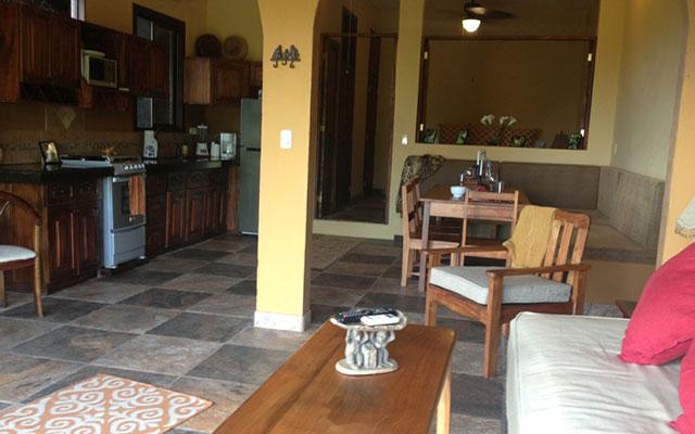 Villa Vista del Mar king suite from balcony