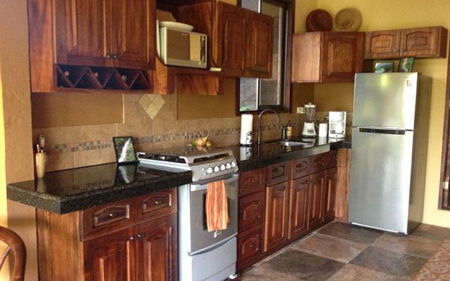 Villa Vista del Mar king suite kitchen