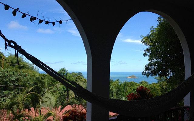 Villa Vista del Mar queen balcony view