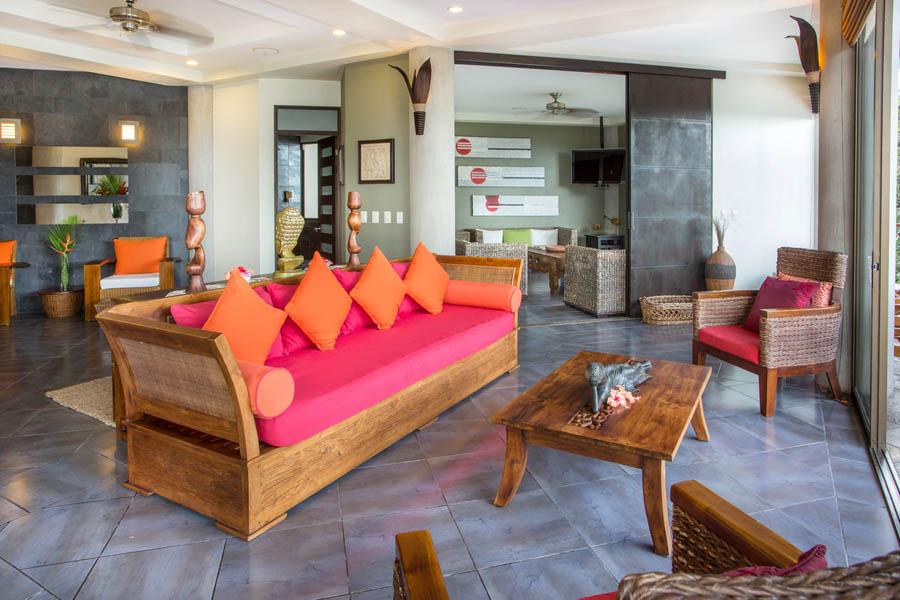 Villa Perezoso living room
