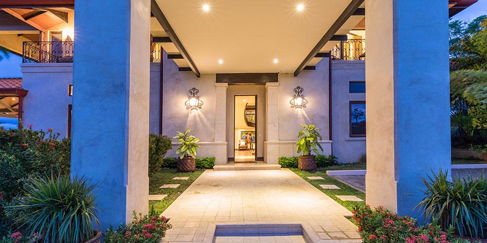 Villa Marbella entrance