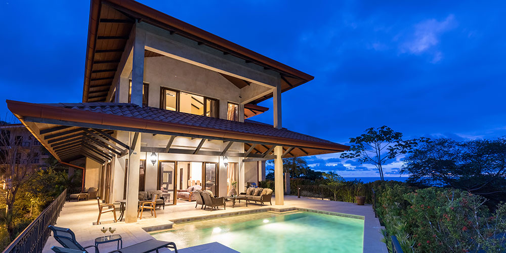 Villa Marbella exterior and pool