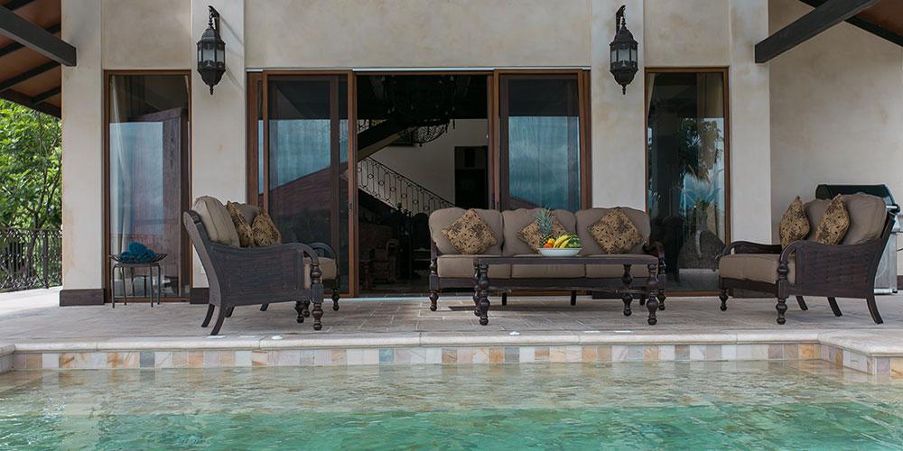 Villa Marbella pool and terrace