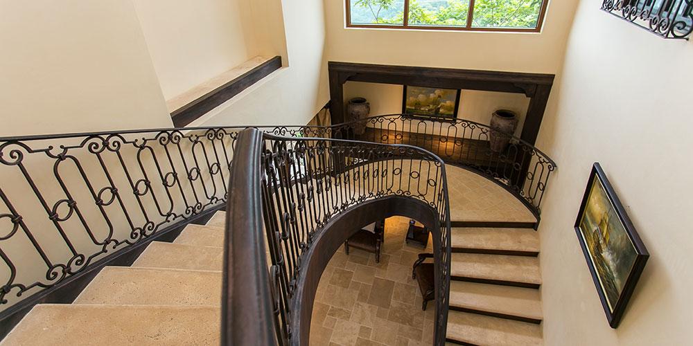 Villa Marbella stairs