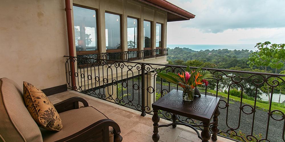 Villa Marbella private balcony