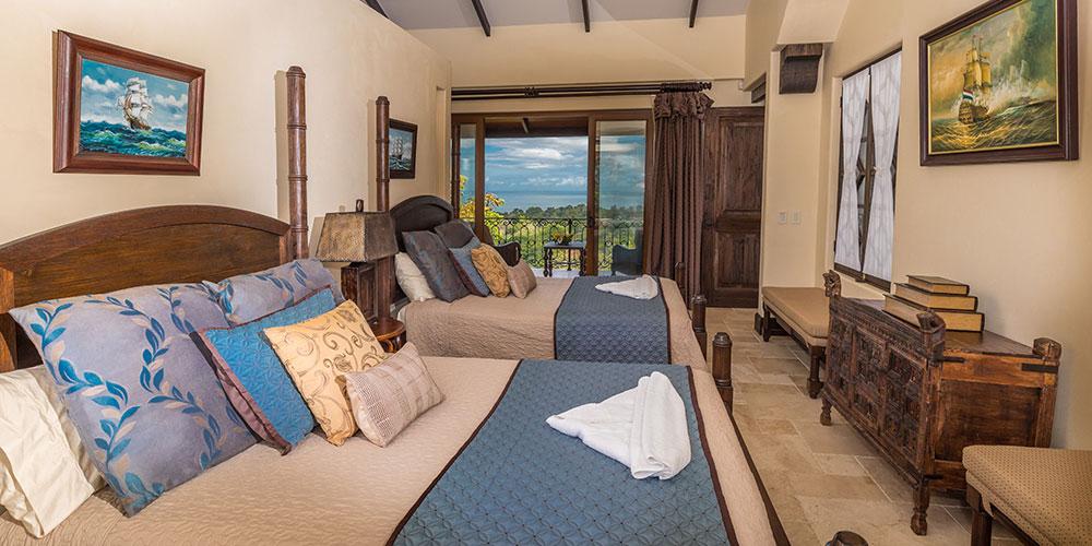 Villa Marbella two double beds