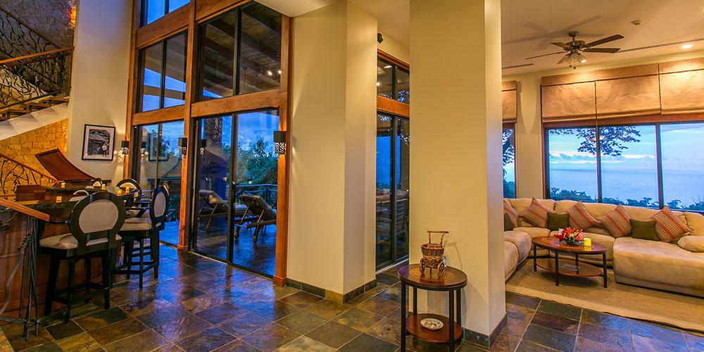 Casa Reserva entrance to terrace