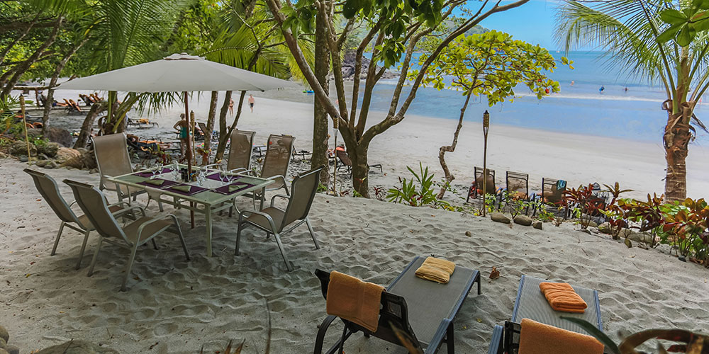 Tulemar 406 private beach