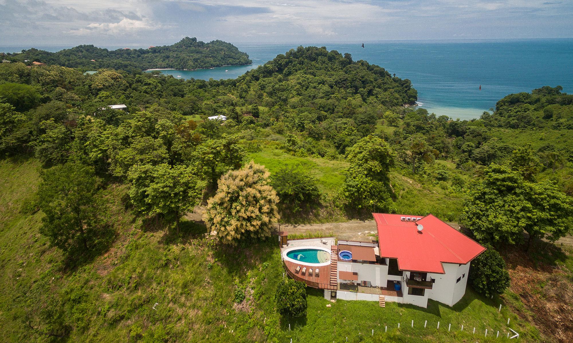 Casa Wyrica aerial
