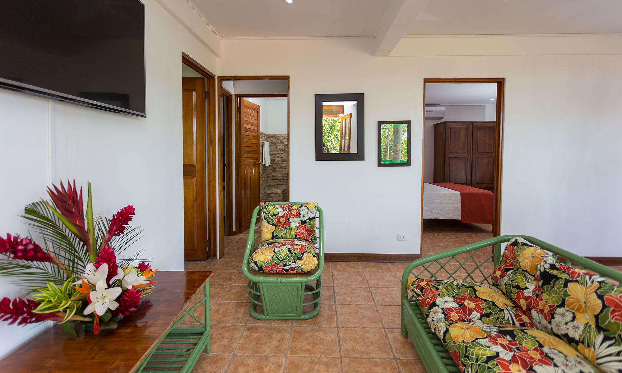 Villa Natura sitting room