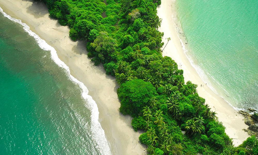 Villa Perfecta aerial coastline
