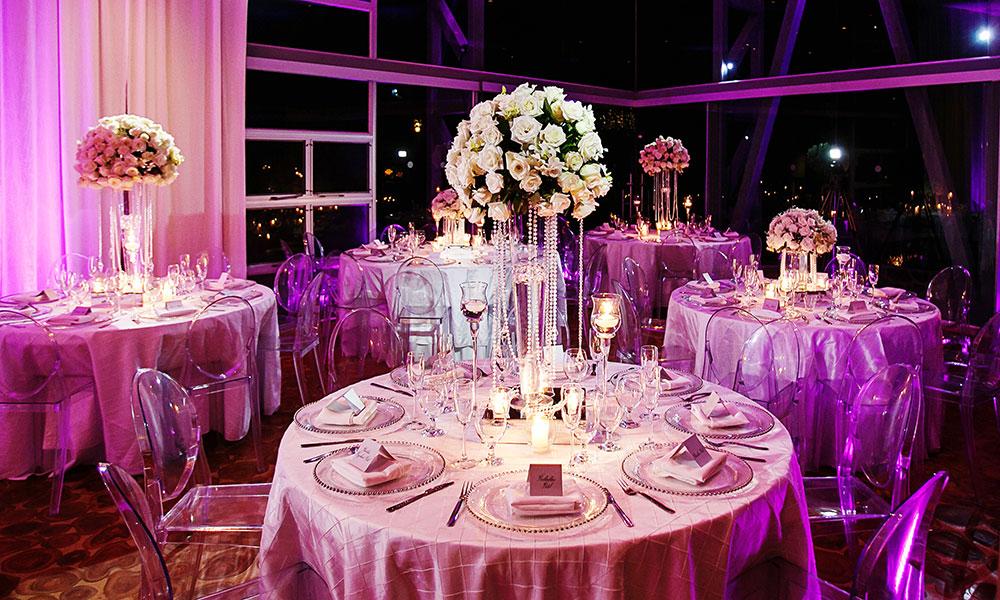 Villa Perfect wedding reception
