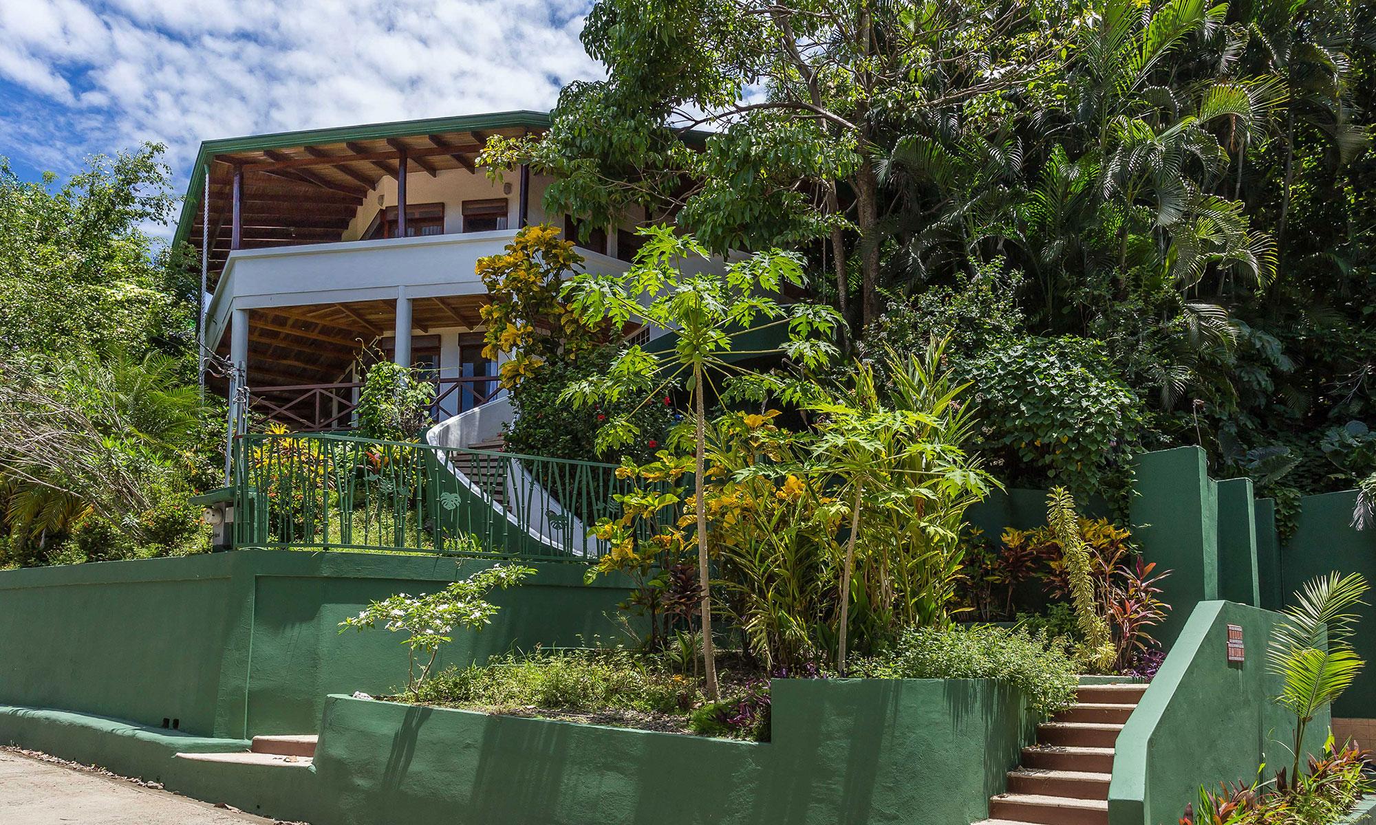 Villa Natura entrance