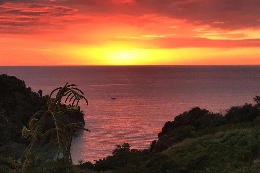 Casa WyRica sunset