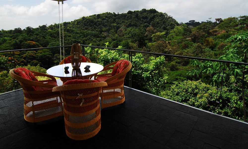Casa de los Suspiros deck view