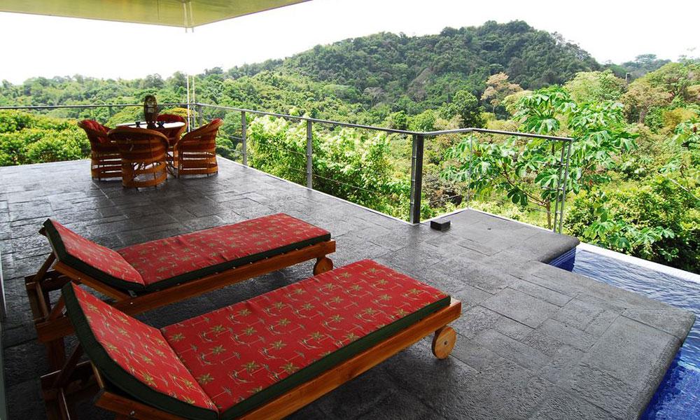 Casa de los Suspiros outdoor sitting area