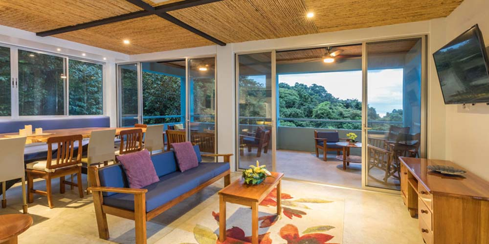 Villa Caimito great room