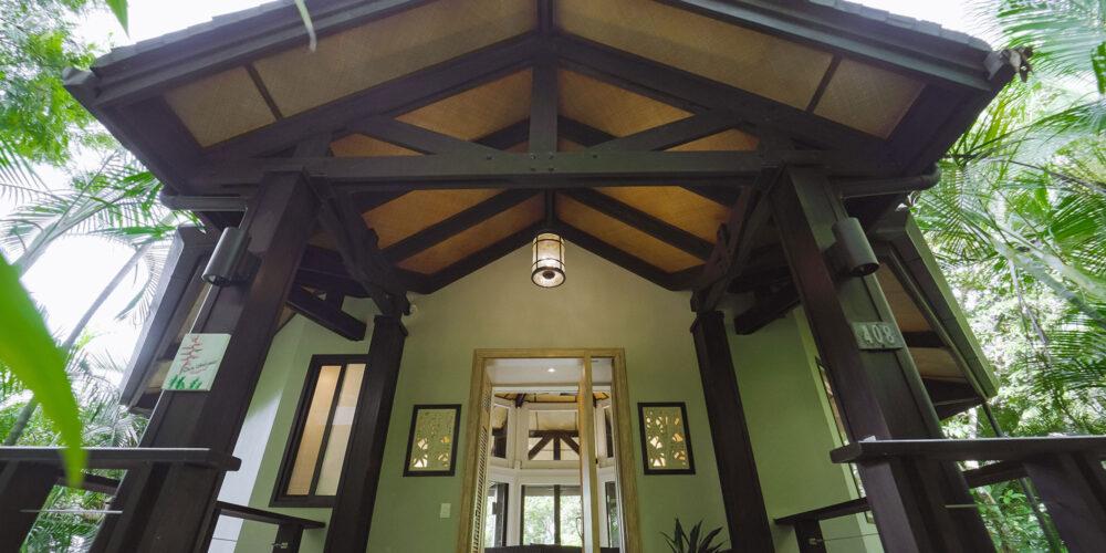 Casa Heliconia entrance